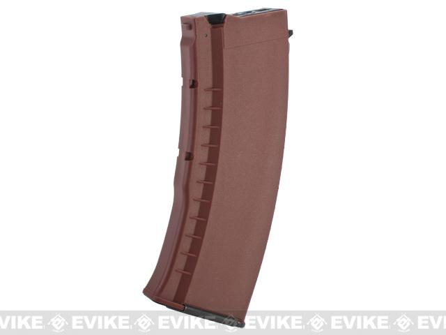 G&G 120rd Polymer Magazine for AK74 / AK47 Series Airsoft AEG Rifles (Color: Bakelite)