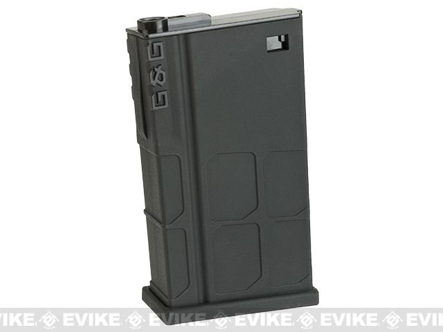 G&G 120 Round Mid-Cap Polymer Magazine for GR25 Series Airsoft AEG Rifles