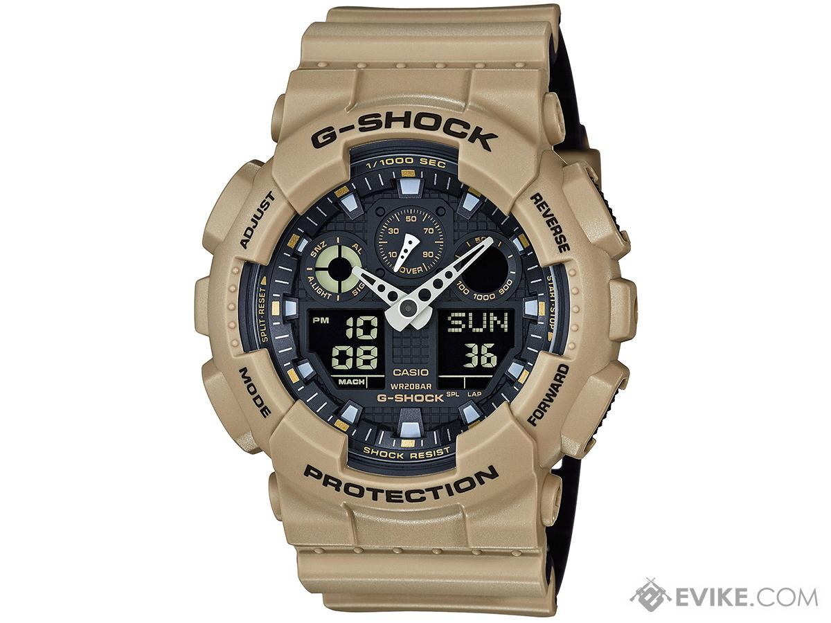 35a931187 Casio G-Shock Trending Series GA100L-8A Digital Watch - Sand Beige ...