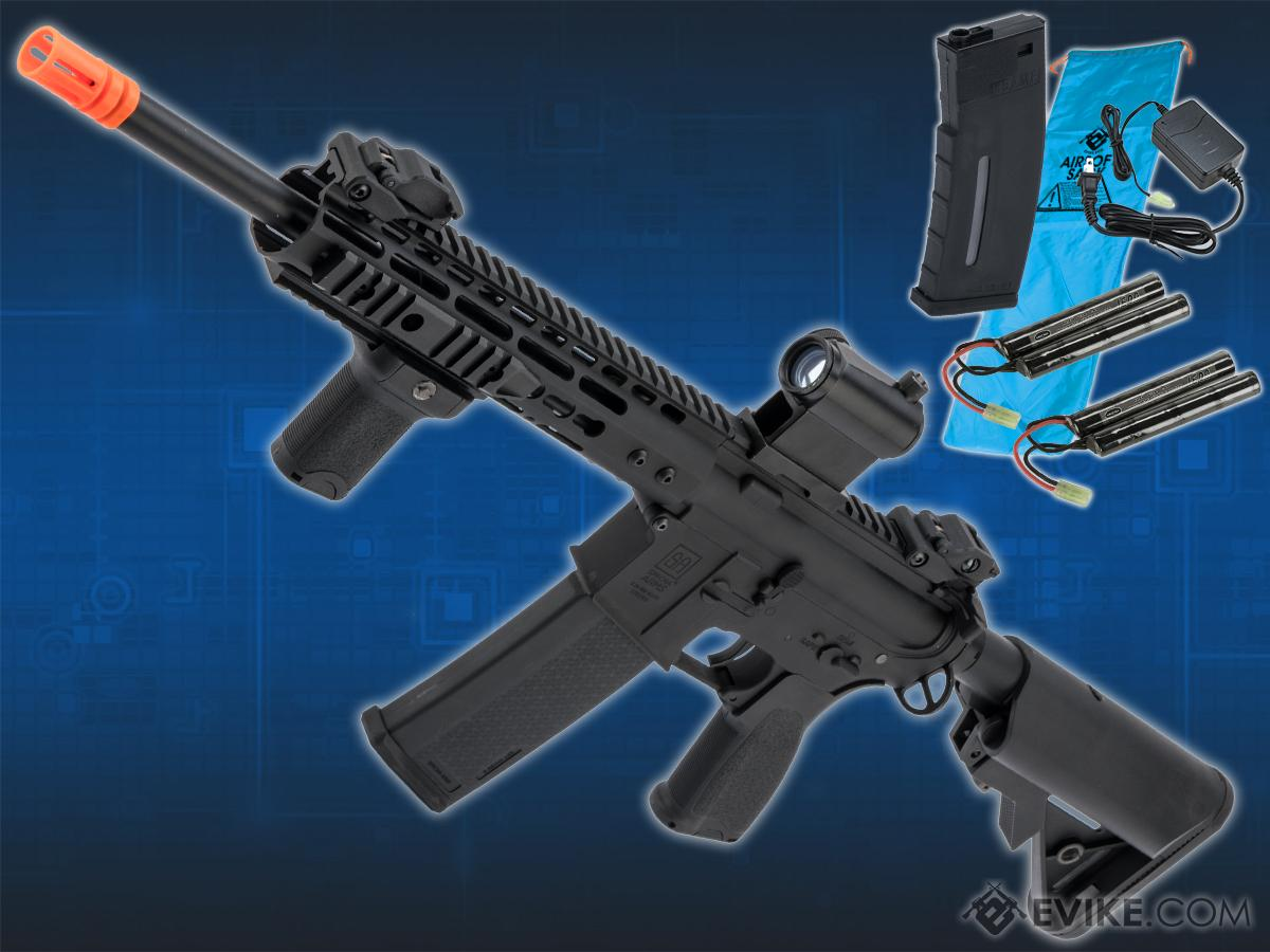 Go Airsoft Package Specna Arms / Rock River Arms Licensed EDGE Series M4 AEG (Model: M4 Carbine Keymod / Black SA-E09)