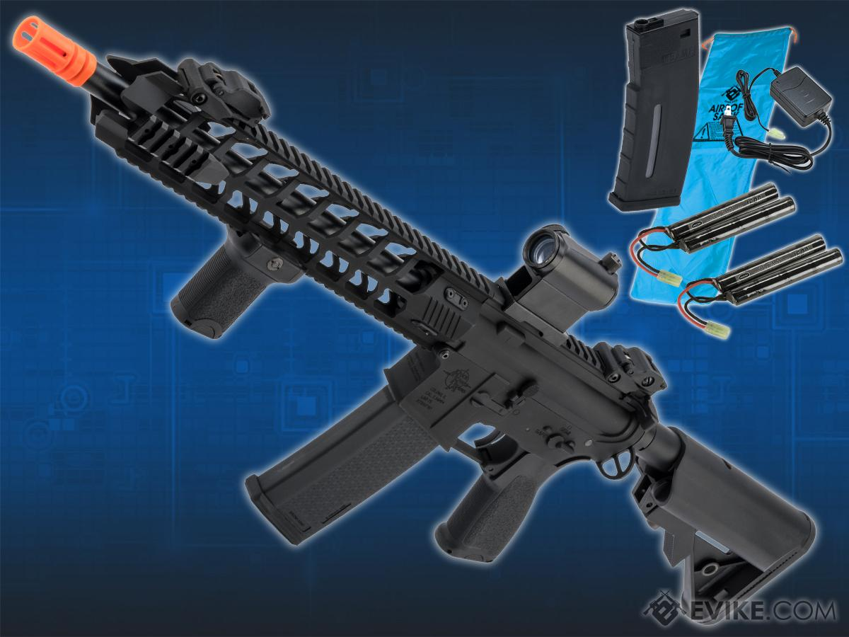 Go Airsoft Package Specna Arms / Rock River Arms Licensed EDGE Series M4 AEG (Model: M4 Archer / Black SA-E13)