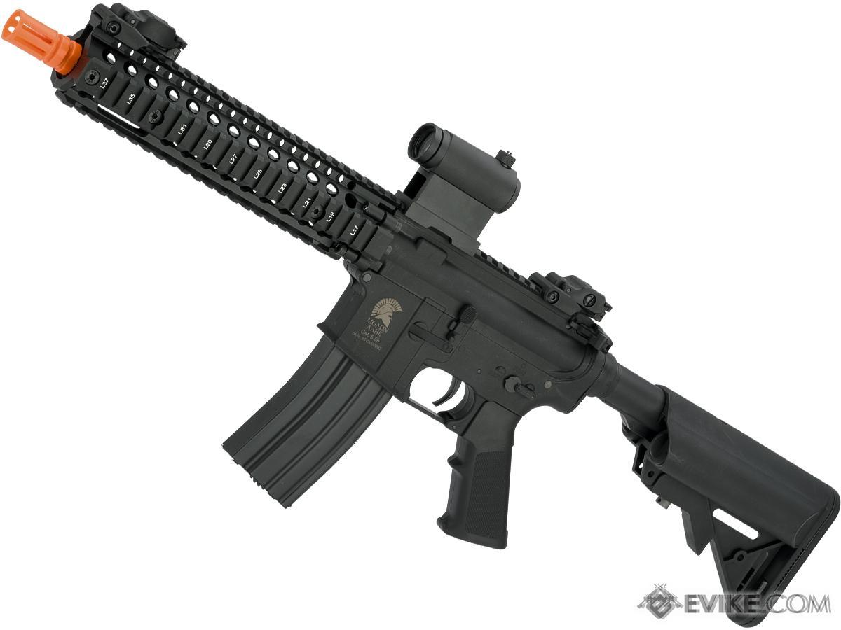 Matrix Sportsline M4 RIS Airsoft AEG Rifle w/ G2 Micro-Switch Gearbox (Model: RIS 9 / Black)