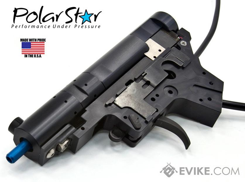 PolarStar Airsoft PR-15 V2 Gen3 Fusion Engine Electro-Pneumatic Gearbox Kit (Model: Standard Blue Nozzle)