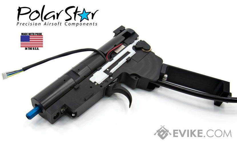 Pre-Order ETA October 2018 PolarStar Airsoft V3 Gen3 AK Fusion Engine Electro-Pneumatic Gearbox Kit (Model: Blue Nozzle)