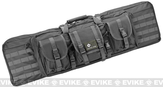 Combat Featured 42 Ultimate Dual Weapon Case Rifle Bag (Color: Black)