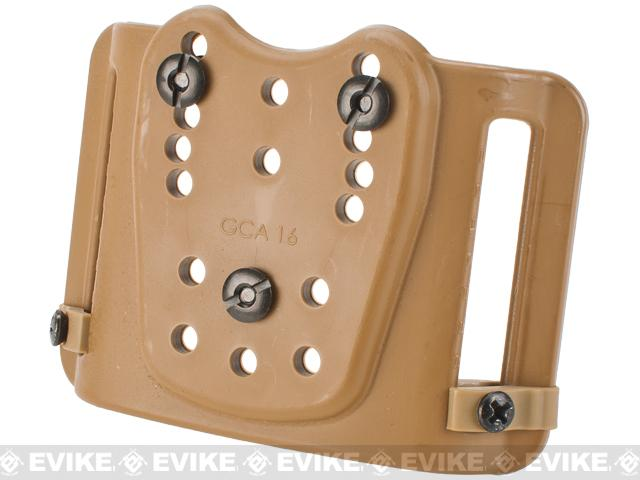 G-Code Standard Universal Belt-Slide Holster Adapter (Color: Coyote Brown)
