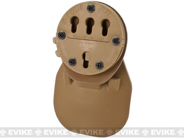 G-Code RTI Paddle Holster Adaptor - Coyote Brown