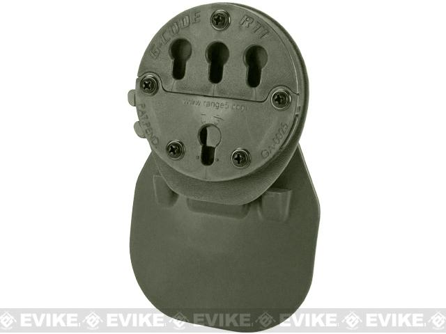 G-Code RTI Paddle Holster Adaptor - OD Green