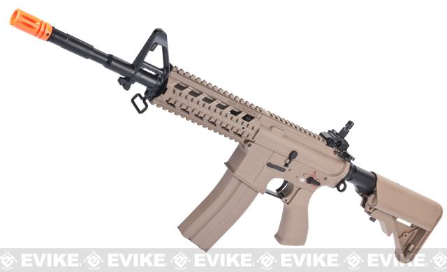 G&G Custom Full Metal M4 Commando Raider Airsoft AEG Rifle w/ Crane Stock - Desert (Package: Gun Only)