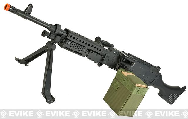 Bone Yard - A&K / Matrix Full Metal M240B Airsoft AEG Sqaud Automatic Weapon (Store Display, Non-Working Or Refurbished Models)
