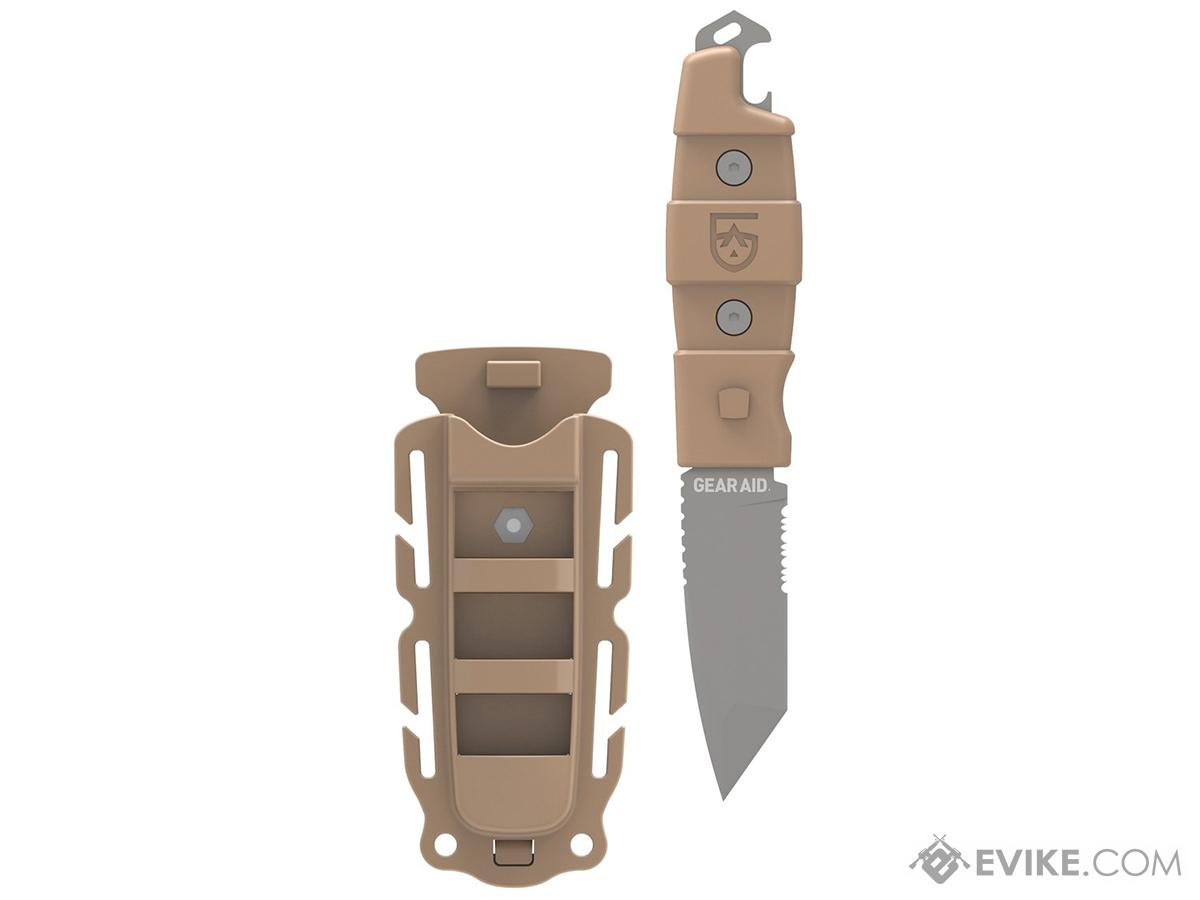 Gear Aid Kotu Tanto Survival Knife (Color: Coyote)