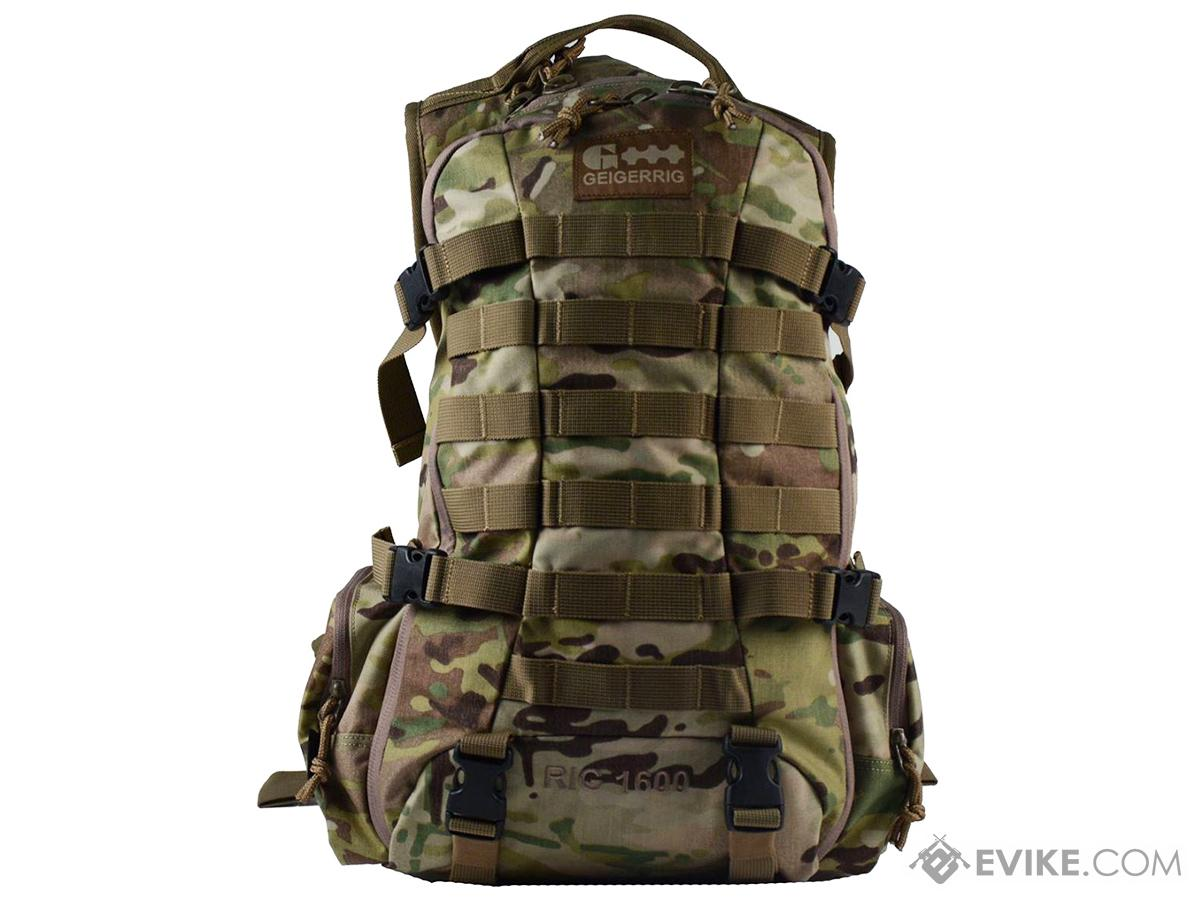 GEIGERRIG RIG1600 Tactical Hydration Pack w/ 2L Hydration Engine (Color: Multicam)