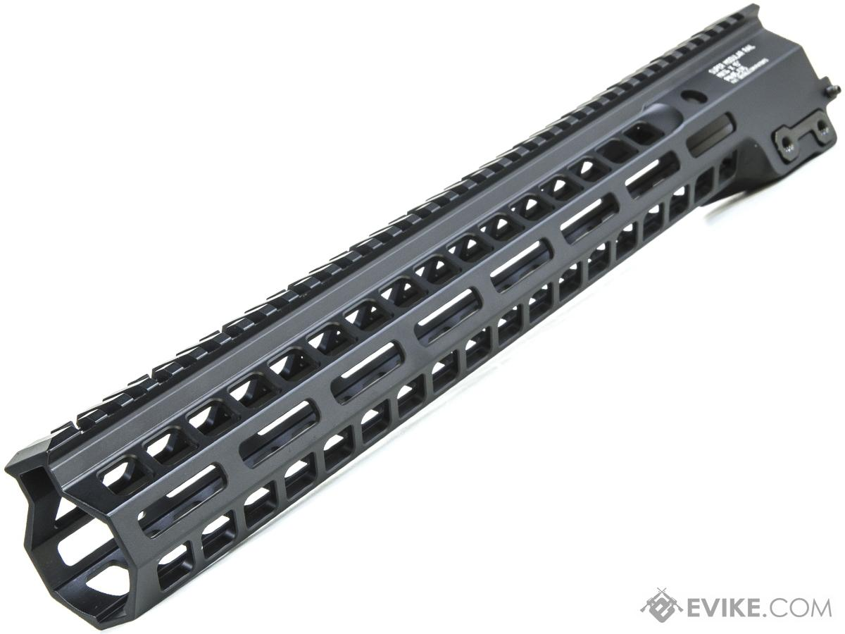 Geissele Super Modular Rail MK14 M-LOK Handguard (Color: Black / 15)