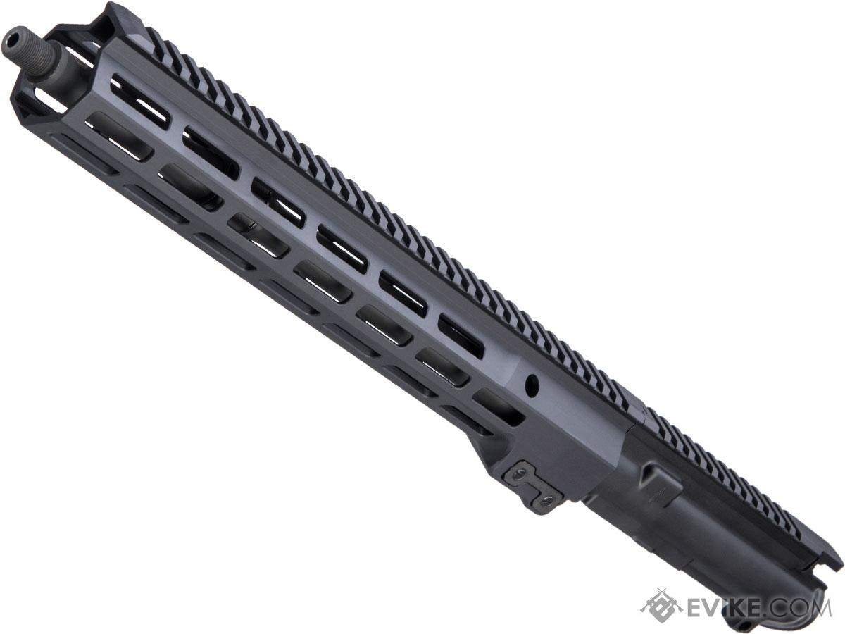 Geissele Automatics Super Duty Stripped Upper Receiver Group Model 14 5 Black Accessories Parts Real Steel Parts Ar15 Ar10 Evike Com Airsoft Superstore