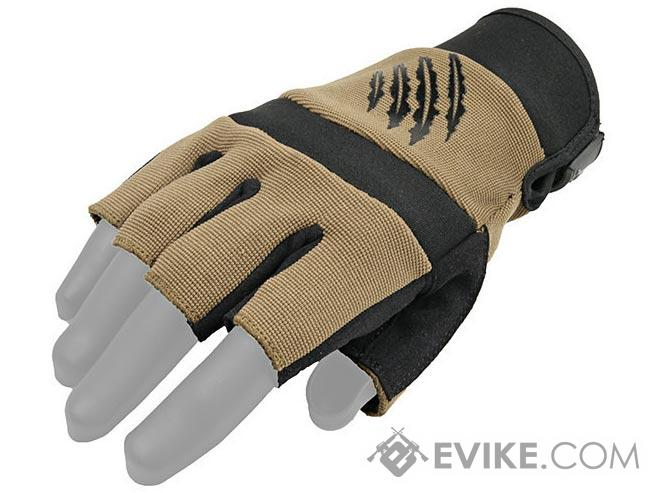Armored Claw Shooter Cut Tactical Gloves (Color: Tan / XXL)