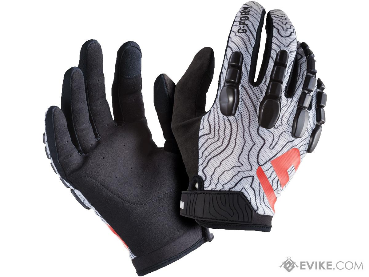 G-Form Pro Trail Gloves (Color: White / Large)