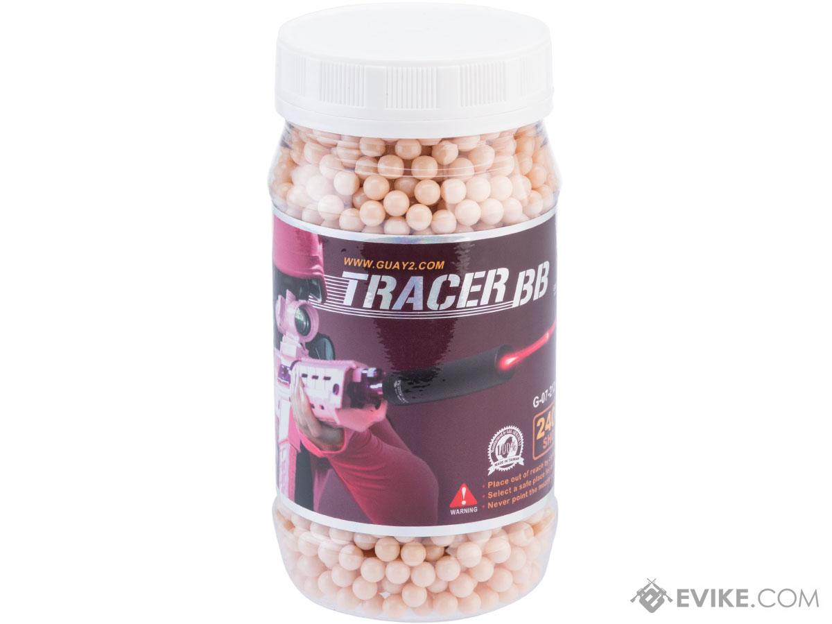 G&G 6mm Premium High Grade Tracer Airsoft BBs (Weight: 0.20G / Red Tracer / 2400 Rounds)