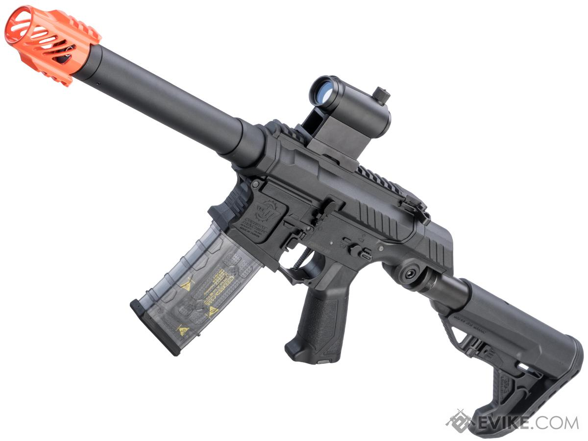 G&G SSG-1 USR Airsoft AEG Rifle w/ Variable Angle Stock and ETU MOSFET (Color: Black)