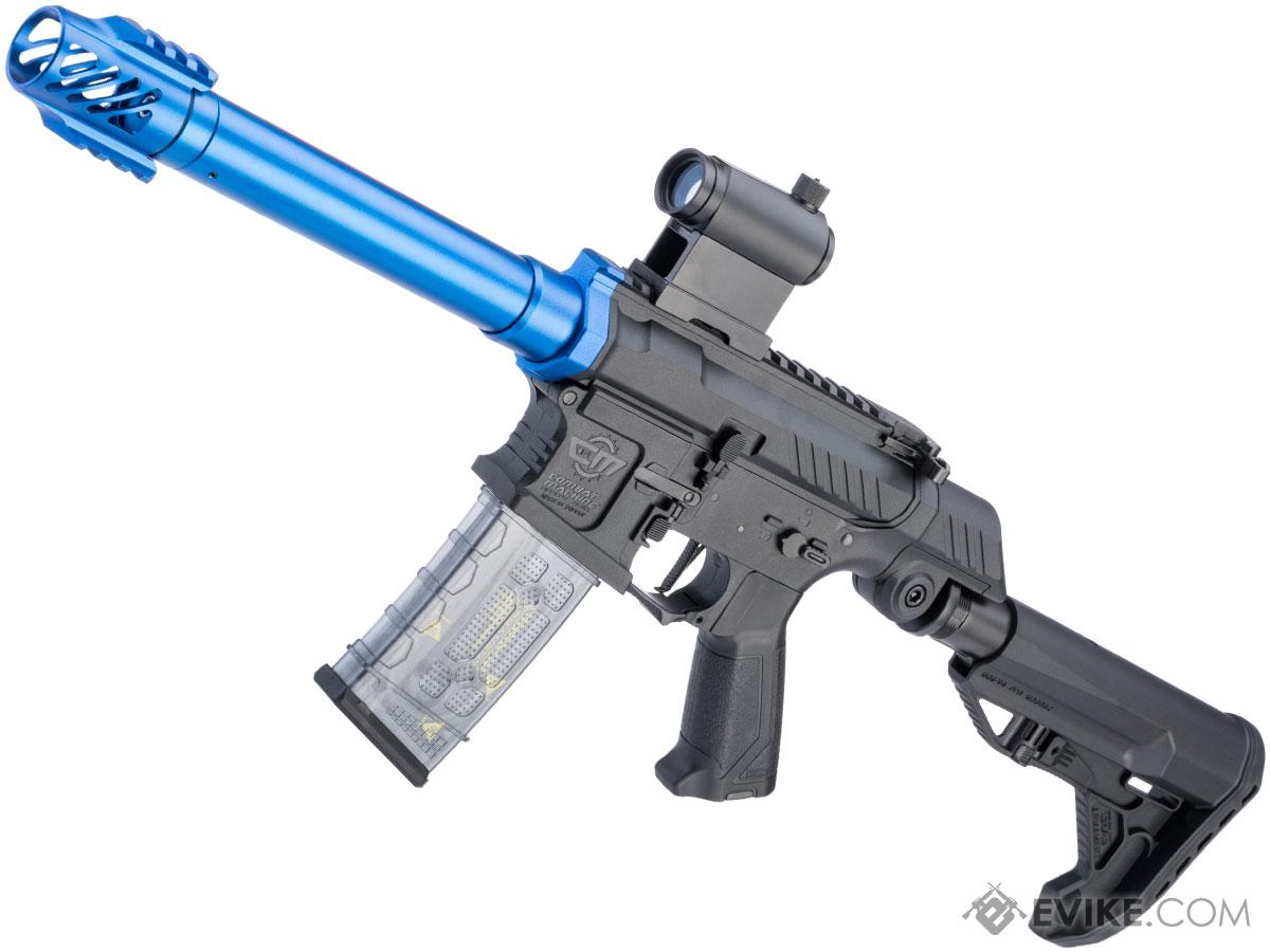 Pre-Order ETA February 2020 G&G SSG-1 USR Airsoft AEG Rifle w/ Variable Angle Stock and ETU MOSFET (Color: Blue / Battery and Charger Package)