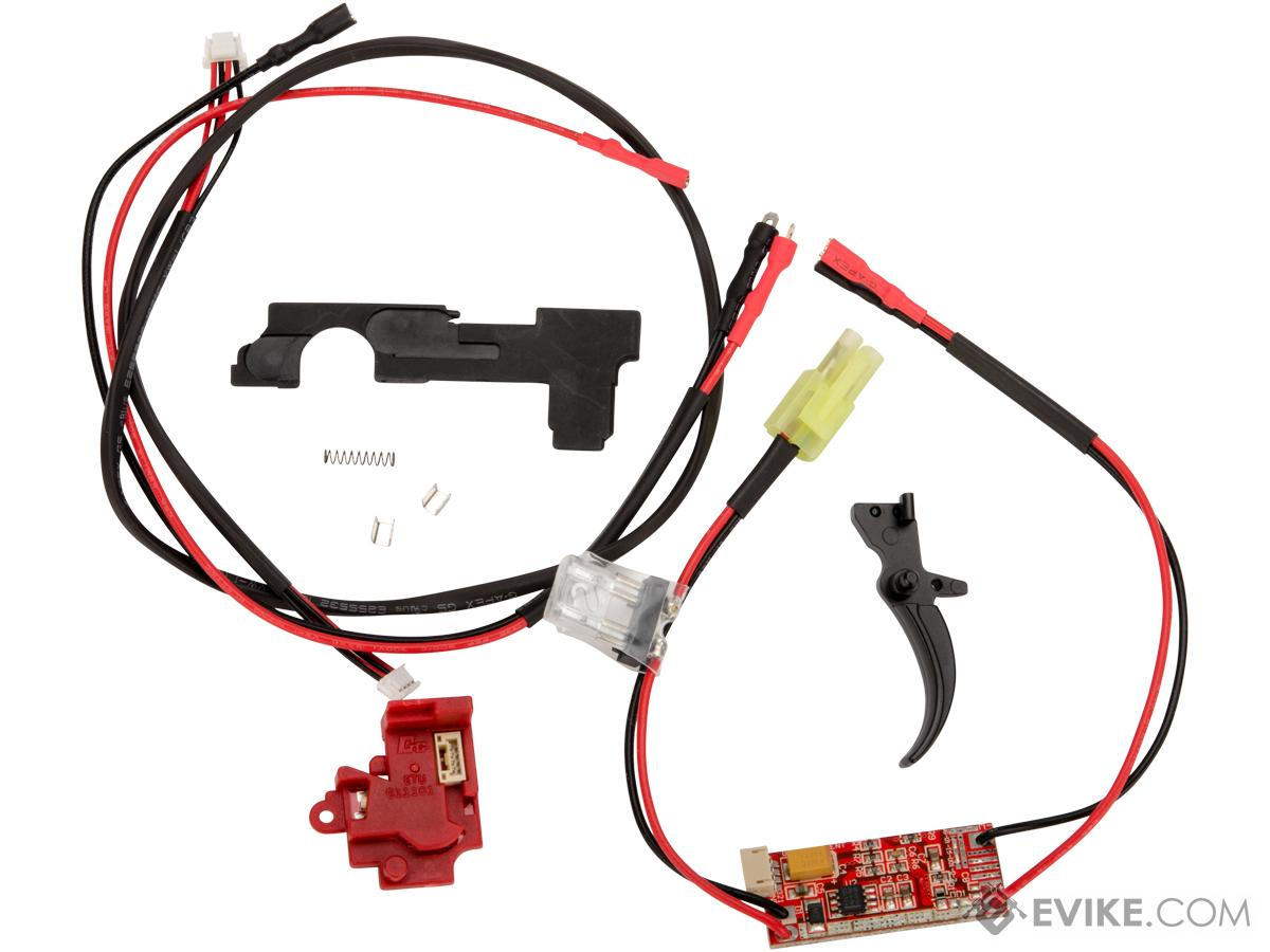 G&G ETU 2.0 and MOSFET 3.0 Wiring Set for Version 2 AEG Gearboxes (Version: Rear Wired)