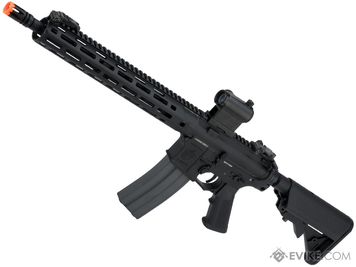 G&G Knight's Armament Licensed SR15 Airsoft AEG Rifle w/ M-LOK Handguard and G2 Gearbox (Model: SR15 E3 MOD2)