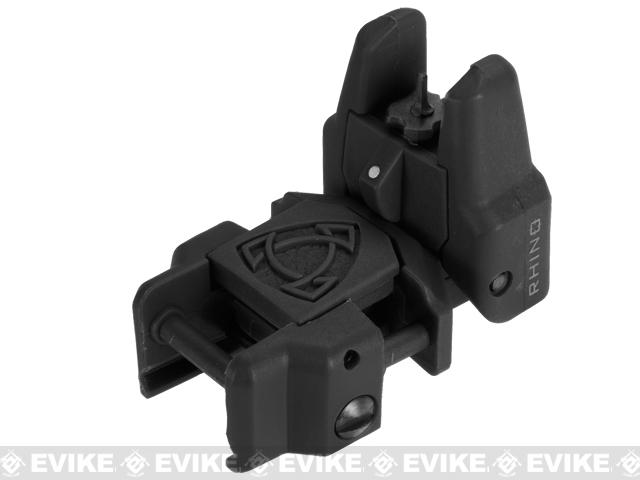 Rhino Flip-Up Tactical Back-Up Rifle Sight by APS - Front Sight (Color: Black)