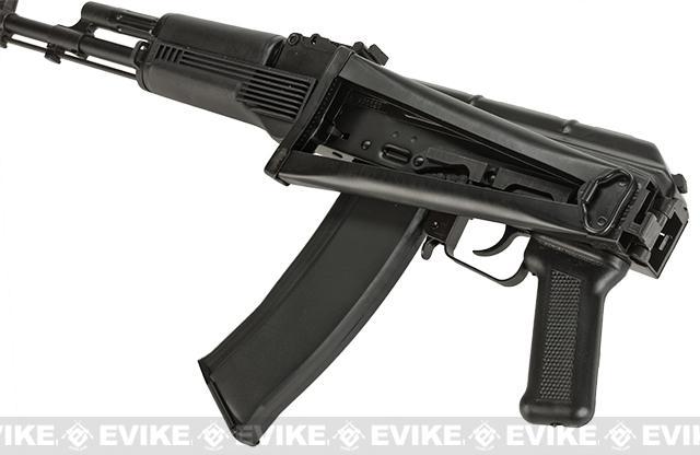 GHK AK74 AKS-74M Steel Receiver Full Metal Airsoft GBB Gas Blowback Rifle