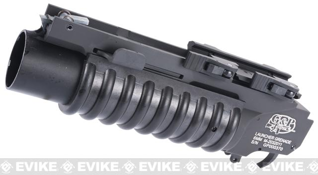 G&P Quick Lock QD M203 Airsoft Grenade Launcher (Length: Extra Short)