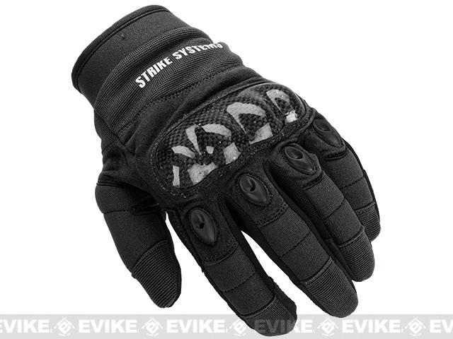 ASG STRIKE Systems Tactical Assault Gloves - Black (Size: X-Large)