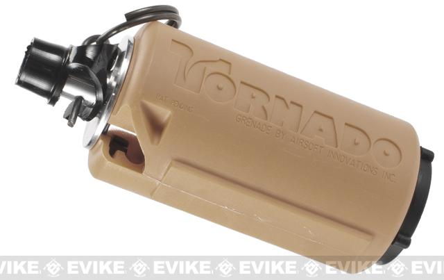 z Airsoft Innovations Tornado Airsoft Gas Powered BB Grenade - Timer / Tan