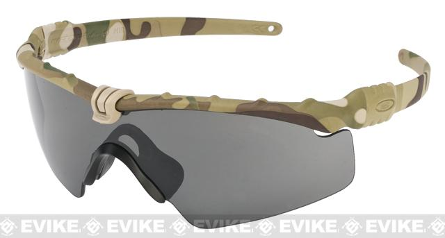 7c03e3f5d0a9f Oakley SI Ballistic M Frame 3.0 Strike Shooting Glasses (Color  Multicam    Smoke Grey