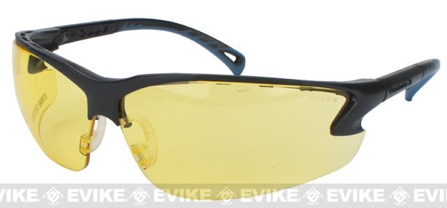 ASG Strike Systems Protective Airsoft Shooting Glasses - Yellow