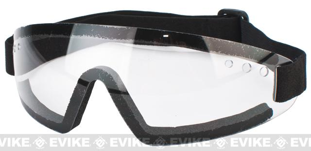 XPower Antifog Polycarbonate Safety Shooting Goggle with UV Protection (Clear Lens)