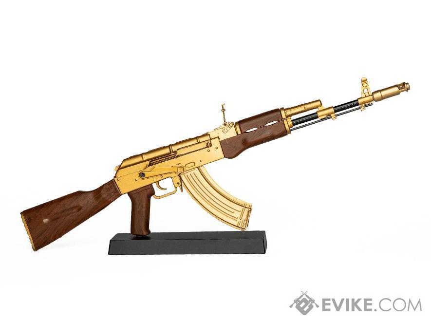 GoatGuns 1:3 Scale Die-Cast Model (Model: AK47 / Gold)