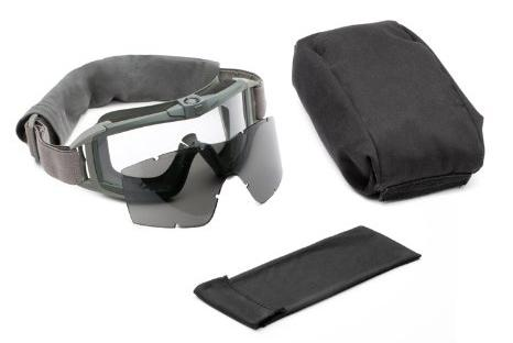 Revision Desert Locust Fan Tactical Goggles - Essential Kit (Foliage Green)