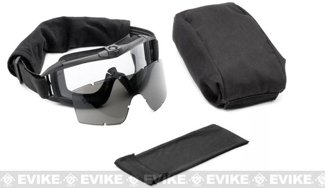 Revision Desert Locust Fan Tactical Goggles - Essential Kit (Black)
