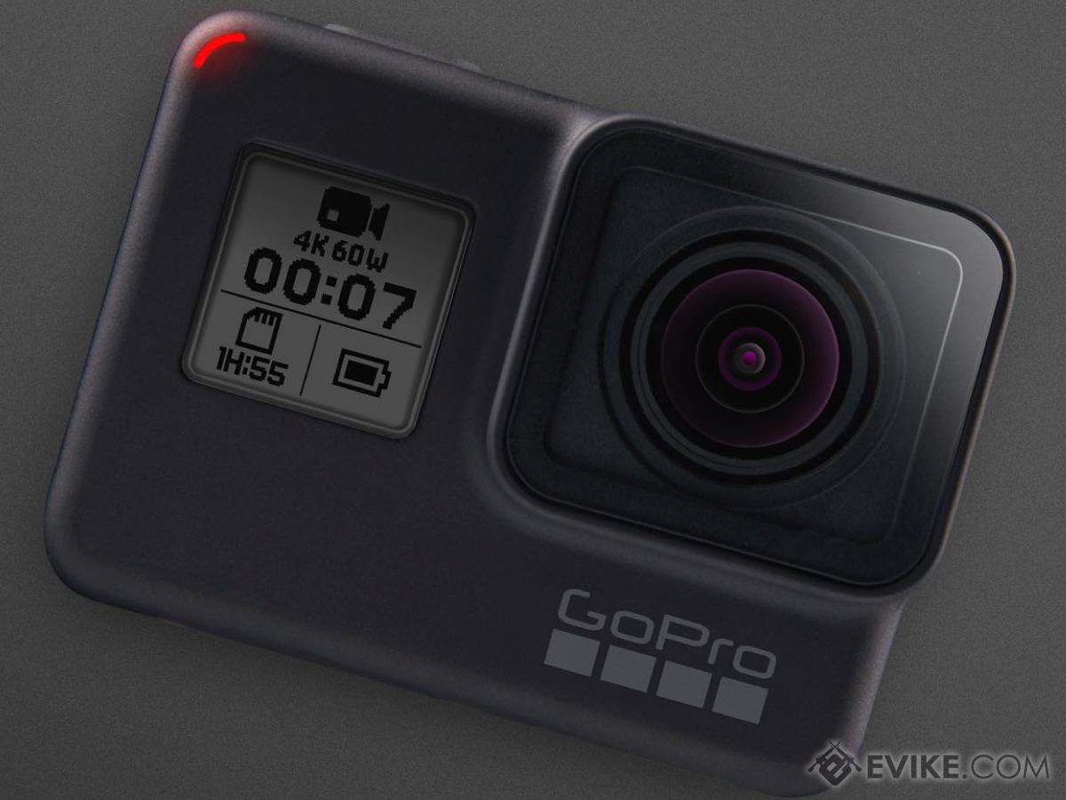 GoPro HERO7 Professional Wearable Camera (Version: Black)