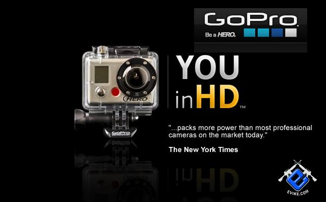 z GoPro HD HERO Professional Wearable HD Camera