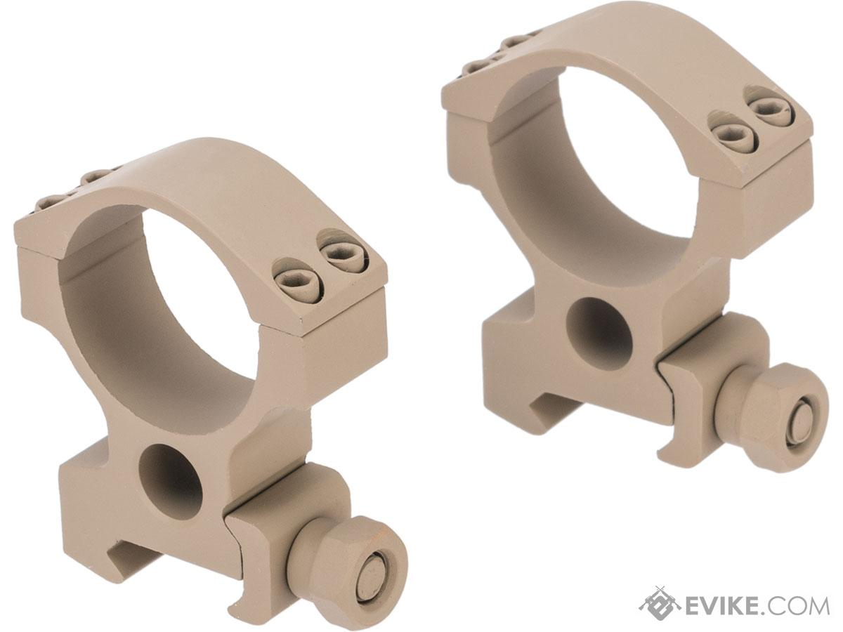 G&P 30mm Scope Mount Rings for Magnified Rifle Scopes (Model: Standard)