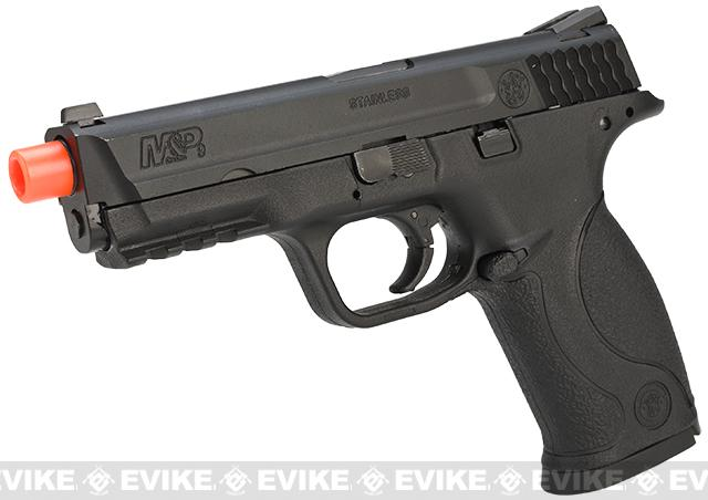 Smith & Wesson Licensed M&P 9 Full Size Airsoft GBB Pistol by VFC (Package: Black / Gun)