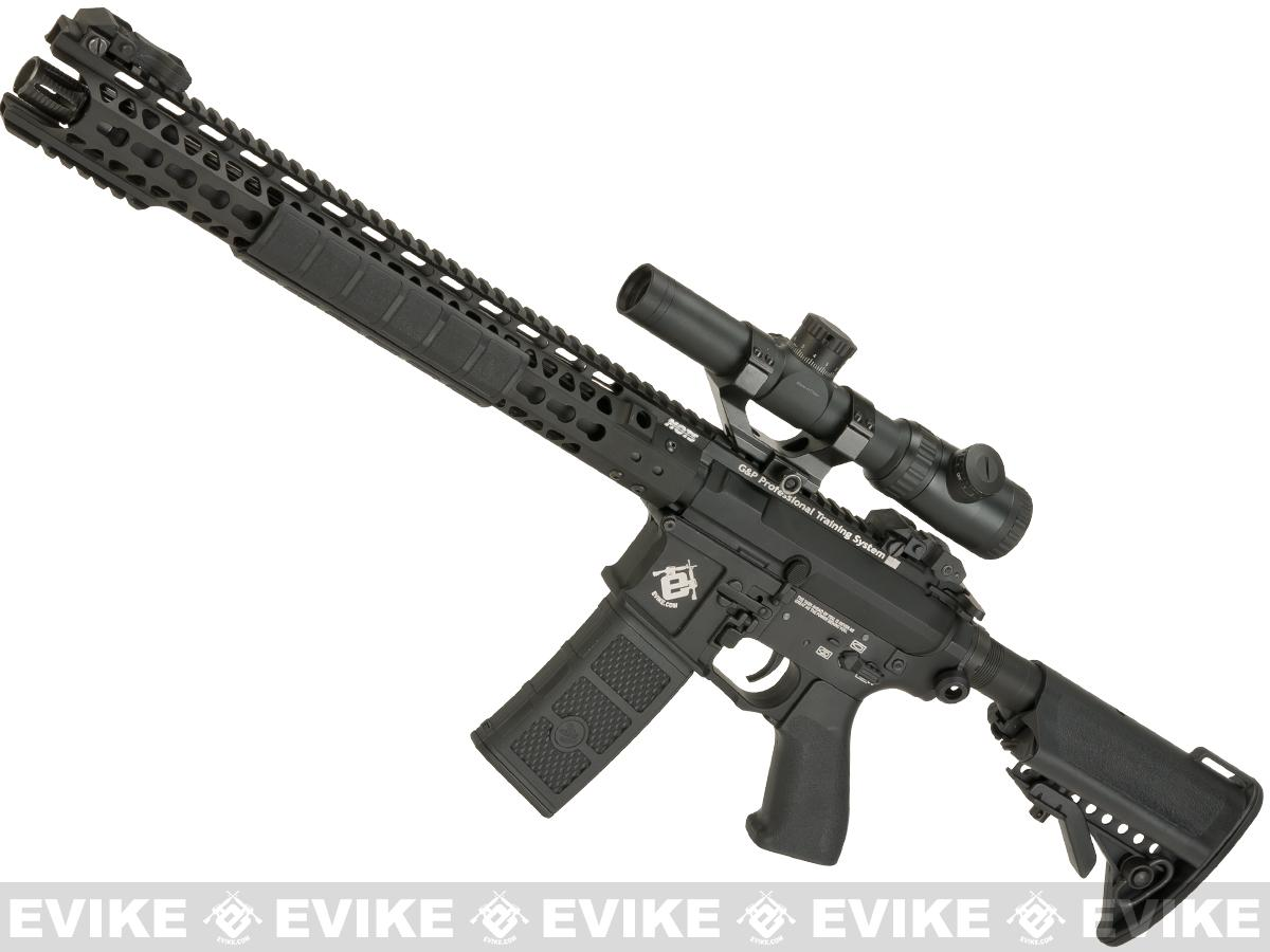 G&P Wire Cutter 16 Keymod M4 Carbine Airsoft AEG Rifle (Package: Evike Special Edition / Add Battery + Charger)