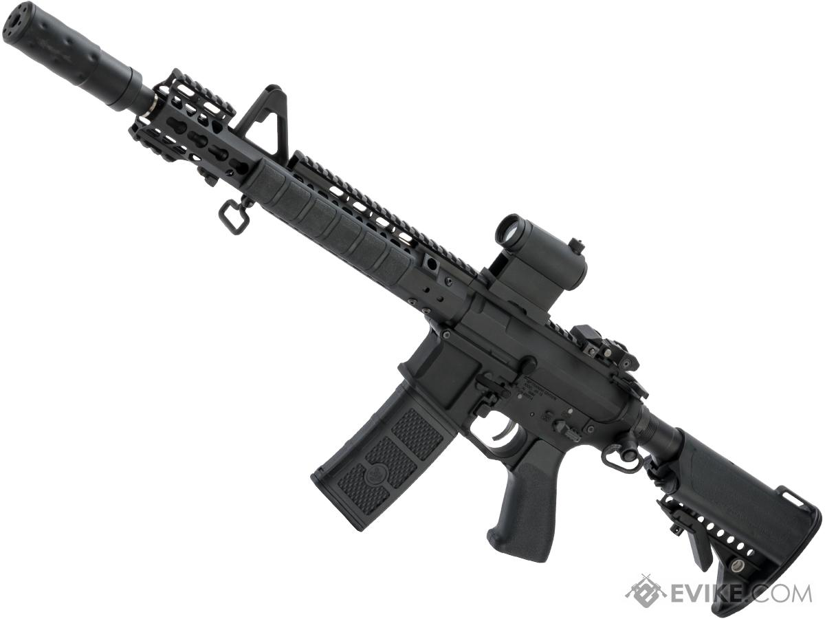 G&P Skull Frog Keymod M4 Carbine Airsoft AEG Rifle w/ i5 Gearbox (Package: Black / Gun Only)