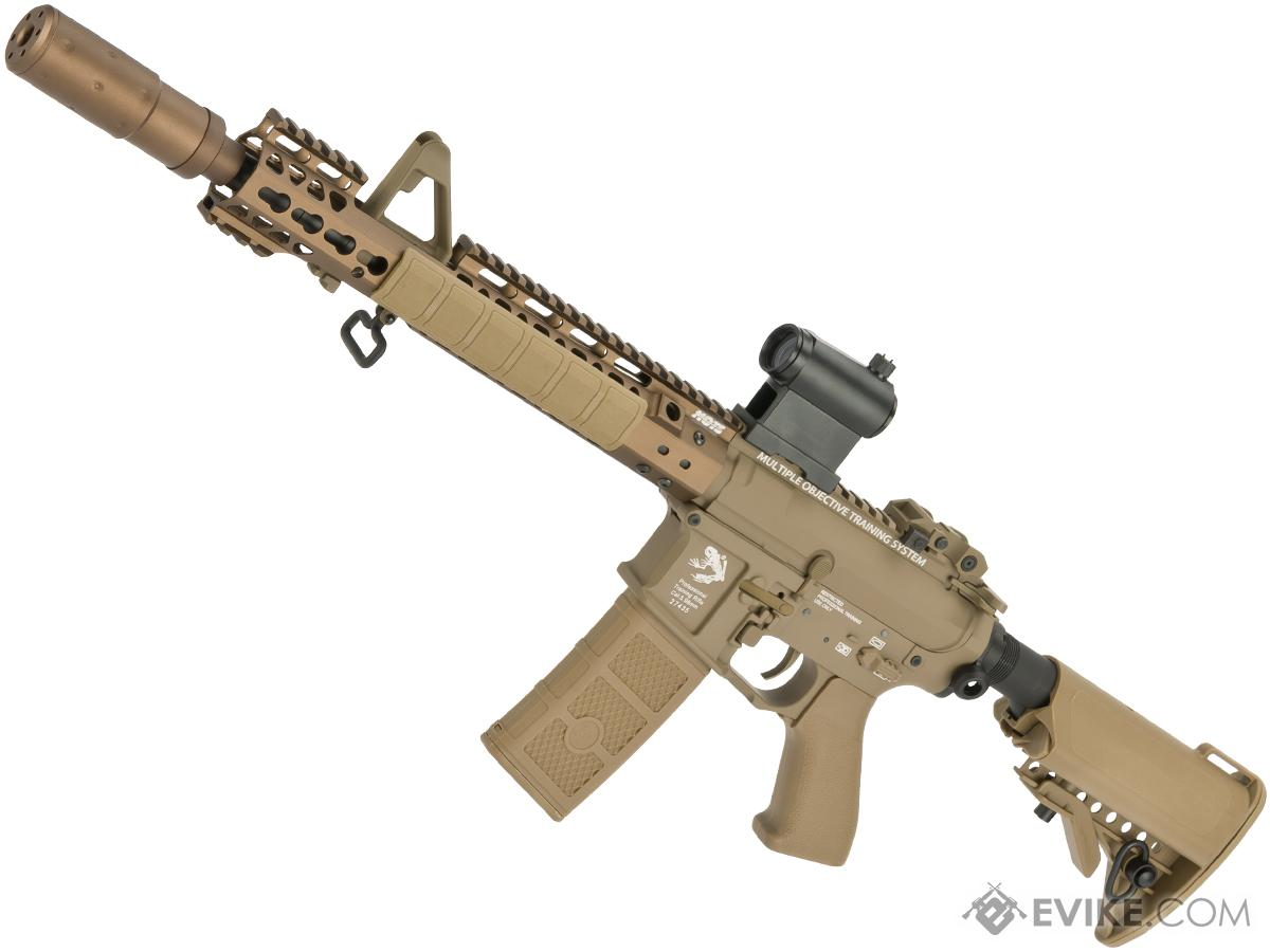 G&P Skull Frog AEG077 Keymod M4 Carbine Airsoft AEG Rifle (Package: Dark Earth + Add Battery/Charger)
