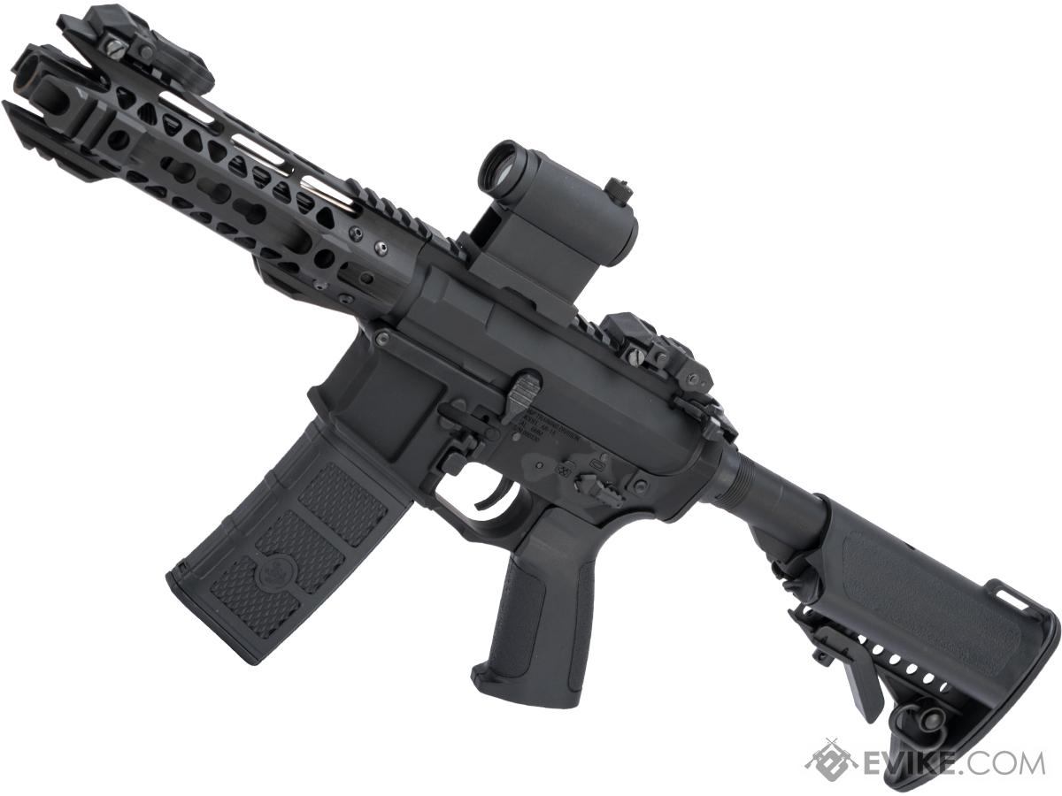 G&P Advanced M4 SBR Airsoft AEG w/ i5 Gearbox and Keymod Handguard (Color: Black / Gun Only)