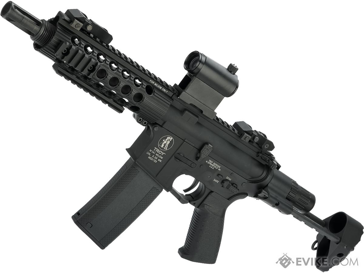 Troy Industry Licensed Limited Edition M7A1 High RPM M4 Airsoft AEG with G&P Latest THOR Gearbox (Rail: 7.5)