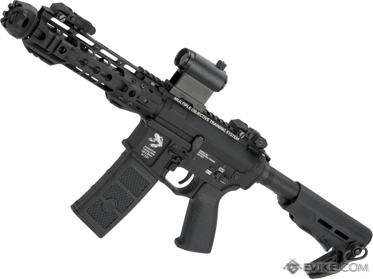 (RUDOLPH'S EPIC DEAL!!!) G&P Transformer Compact M4 Airsoft AEG with QD Front Assembly (Version: 8 Cutter Brake)