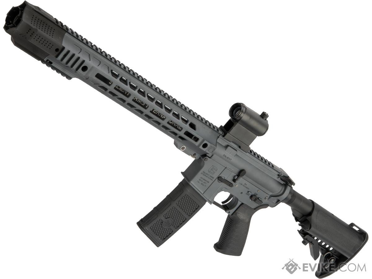 Pre-Order ETA March 2019 EMG / SAI GRY Forged Receiver AR-15 AEG Training Rifle w/ JailBrake Muzzle (Configuration: Carbine / Cerakote Grey / Black Export Furniture)