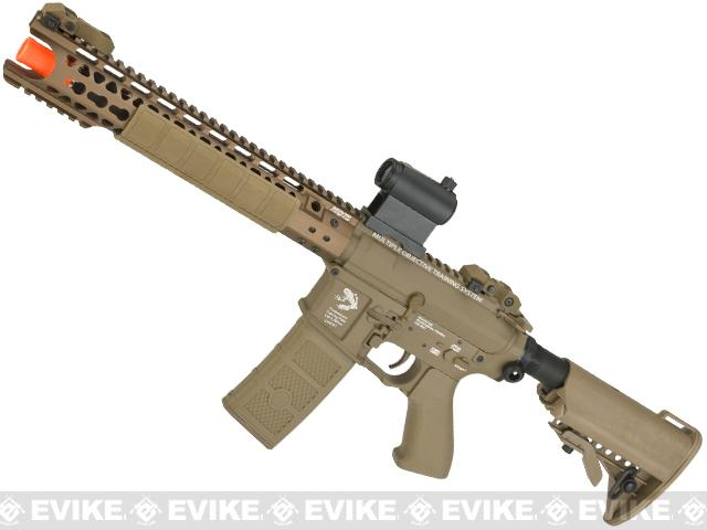 G&P Wire Cutter Keymod M4 Carbine Airsoft AEG Rifle - Dark Earth (Package: Gun Only)
