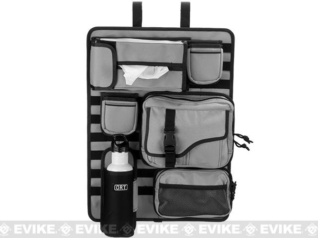 ORT 4x4 by G&P Tactical Seat-Back MOLLE  Organizer Cover - Grey