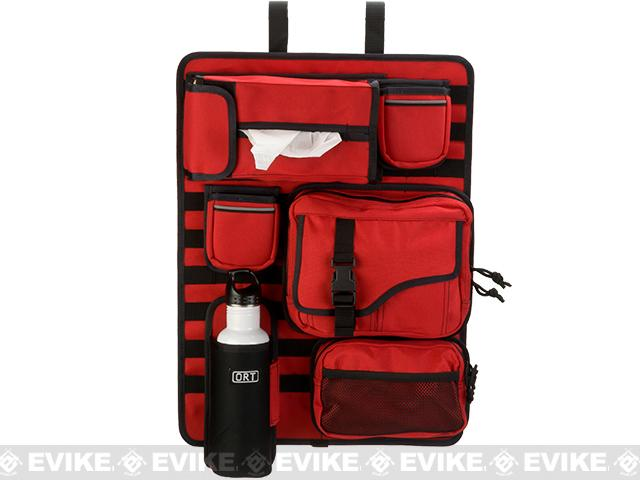 ORT 4x4 by G&P Tactical Seat-Back MOLLE  Organizer Cover - Red